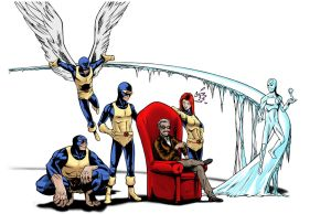 To Me, My X-men - colored by MrSinister616