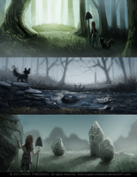 DAY 262. Sidhe - Visual Development 12 by Cryptid-Creations