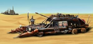 Cannibal Harvester by Elderscroller