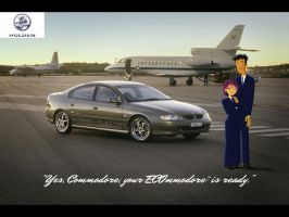 [Yes, Commodore, your ECOmmodore is ready.] by daanton