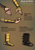 Gloves and Boots Concepts by Harry-the-Fox