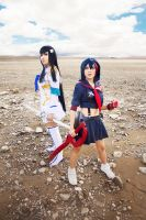 Kill la Kill: Sisters by JoviClaire