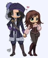 Pirate Couple by slinkysis3
