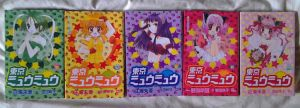 Tokyo Mew Mew Manga FOR SALE Japanese version 3-7 by Piplup501