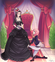 Comm: Long Live the Queen - Will you marry me? by RizaLa