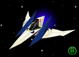 Arwing 64 by Juandiego1993