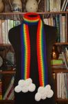 Rainbow Scarf by CreativeExcess