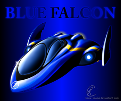Blue Falcon by Know-Kname