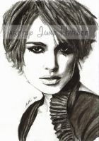 Keira Knightley Charcoal by JunebugHardee