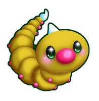 Weedle by Clinkorz