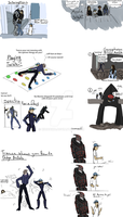 ME3 Comic Ideas Dump by ExtremePenguin