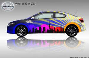 skin a scion tc side by rafaelmh9