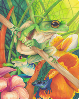 King of Frogs by PMSingTiger