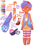Gabriel - Concept by NightmaresInChibi