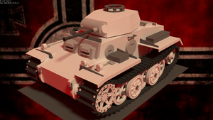 Panzer II Ausf. J by BeardyJosh