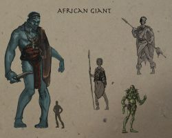 African Giants by Terra-fen