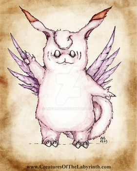 Pokedex Project: Clefable by lmerlo72