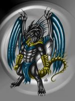 Son of Bahamut color - Sferath by SunMoonDragoness