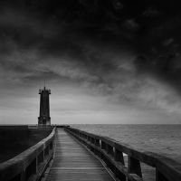 the pier in Fecamp by VaggelisFragiadakis