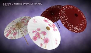 Sakura Umbrella overhaul for XPS by RonDoe