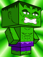 The Hulk Cubee by Pankismo