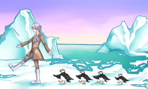 APH - March of the puffins by BleuDePrusse