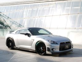 Wald Nissan GT-R by TheCarloos