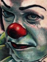 Pennywise the Clown by mrstaggerlee