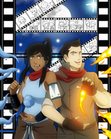 Makorra Photobooth by justplainquirky