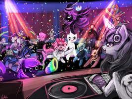 Dance Party (TrotsdaleHeights) by luminaura
