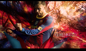 Gerard Pique by Gigy1996