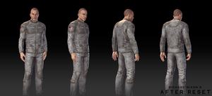 After Reset RPG models MALE CHARACTER 3 by blackcloudstudios