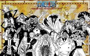 one piece character tournament 2013 2nd round wins by DOR20