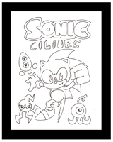 Sonic Colours  - Aosth Style by funkyjeremi