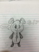 Gir doodle by RuffiMutt