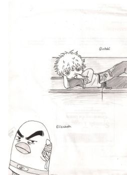 Gintama Sketches by tier-xhan