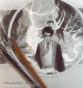 Harry Potter sketch by Michelle-Winer