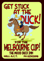Get stuck at the duck for the melbourne cup by TheWarrigul