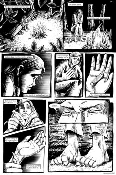 Cycles Ep1 pg1 A Cry in the Woods by Were-World