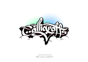 Mr.Calligraff by bakeroner