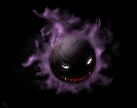 Gastly by Snook-8