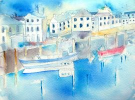 Bideford on a sunny day by GeaAusten