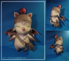 Kaizo's Moogle - Papercraft by Lyrin-83