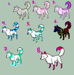 5-1 point adoptable dogs by PinkkiES