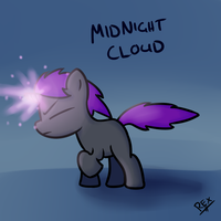 OC: Midnight Cloud by ProsaurusRex
