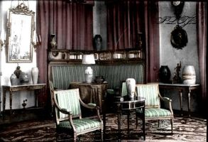 Formal reception room in Alexander Palace III by Linnea-Rose