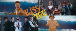 Capturas del video KISS YOU- ONE DIRECTION by Daniyris