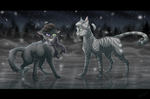 Gift - On the ice by Kocurzyca