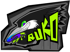 Ruko Con Badge by RadioactiveBirds