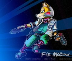 Fox McCloud - Collab by FanWrks